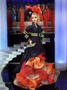 Barbie Miss, Barbie And Ken, Barbie Style, Barbie Gowns, Pageant Gowns, Miss Pageant, Vintage Barbie Dolls, Barbies Dolls, Costume