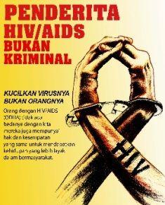 Dampak HIV AIDS adalah akibat dari masuknya virus HIV terhadap tubuh seseorang. Sehingga seseorang itu mempunyai dampak psikososial terhadap masyarakat sekitarnya. Merasa minder atau tak mau bergaul merupakan salah satu dampak psikososial yang biasa ditemui pada penderita HIV.