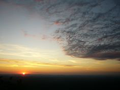 Sunset on the Pinhoti Trail, Cheaha State Park, AL September 2008 by Juston Cutcher