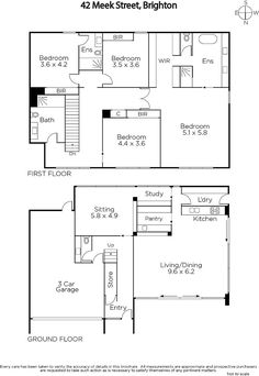 Move the garage away and put a winter entry to connect garage and the first floor. Eliminate the bath and bedroom on the left of second floor and open the front bedroom to a reading room.