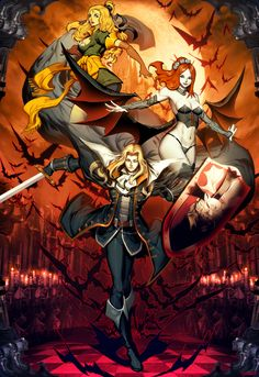This image was done time ago for a videogame expo. Castlevania is one of my favorite series ever. My favorite one is Super Castlevania IV, but Symphony . Castlevania - Symphony of the night Alucard Castlevania, Castlevania Netflix, Castlevania Lord Of Shadow, Castlevania Games, Dark Souls, Dark Fantasy, Fantasy Art, Gi Joe, Game Character