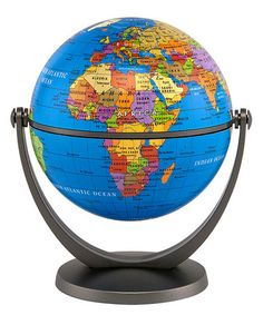 Take a look at this Blue Ocean Swivel & Tilt Mini Globe by Round World on #zulily today!