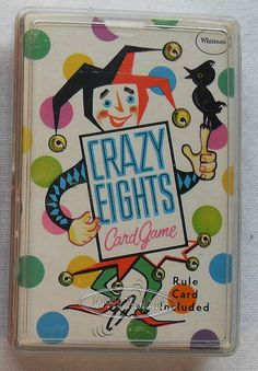 Deck Of Cards CRAZY EIGHTS Vintage 1960s Card Game Whitman Toy by Christian Montone, via Flickr