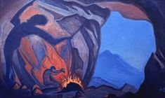 Fan account of Nicholas Roerich, a Russian painter, writer, archaeologist, theosophist and philosopher. Tibet, Nicholas Roerich, Russian Painting, Landscape Drawings, Landscapes, Art Database, Art Reproductions, Art And Architecture, The Magicians