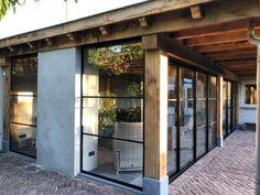 House Extension Design, House Design, Rammed Earth Homes, Honfleur, Brick Flooring, Garden Office, Backyard For Kids, Rooftop Terrace, House Extensions