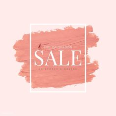 End of Season Sale vector | free image by rawpixel.com / Ake Wallpaper For Sale, Online Shopping Quotes, Photo Frame Design, Banner Background Images, Fashion Logo Design, Promotional Design, End Of Season Sale, Sale Banner, Sale Poster