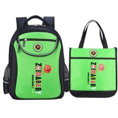 New Arrival SchoolBag Nylon Children School Backpacks Set 2PS Princess Primary Book Bag Cartoon School Bags For Girls Boys #Affiliate