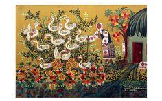 Дню Рождения Художника посвящается. 25 марта 1922 года родилась Марфа Ксенофонтовна Тимченко. Художник с большой буквы. Ее картины ни на что не похожи, ее жизнь достойна романа. Она родилась в селе Петрикивка на Днепропетровщине, на родине той самой знаменитой петрикивской росписи. Рисовала всегда, сколько себя помнит. Делала сама краски из буряка, ягод, а мама мастерила для нее «кошАчки»…