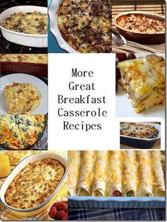 casseroles