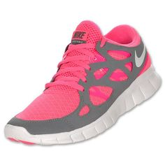 Nike Free Run +2...I have the original version in a hot pink. Very comfy shoes. I don't run, but they have been great for me as a walking shoe.