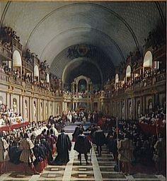 Assemblea degli Stati Generali, Parigi, 1614 (Jean Alaux)