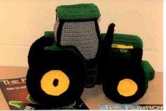 John Deere Tractor stuffie