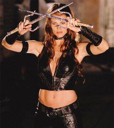 Jennifer Garner as Elektra Natchios in Daredevil.