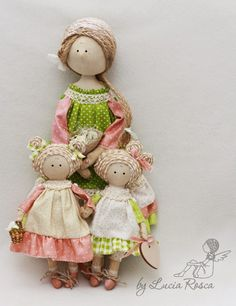 Lucias handmade: Мама с дочами