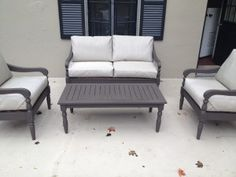 Video - How to reupholster outdoor patio cushions with a GLUE GUN. - Home Changes