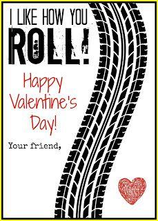 I like how you roll, matchbox valentine #valentines Valentine Theme, Valentines For Boys, Valentine Day Cards, Valentine Gifts, Valentine Ideas, Valentine Stuff, Valentine's Cards For Kids, Printable Cards, Boyish