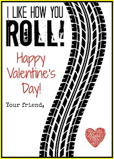 I like how you roll, matchbox valentine #valentines