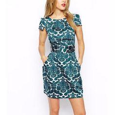 Women plus size short sleeve casual slim dress //Price: $16.99 & FREE Shipping //     #hashtag2