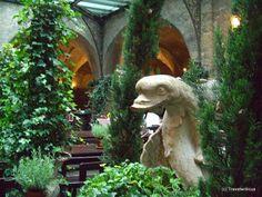 Inside the oldest restaurant of Salzburg, Austria