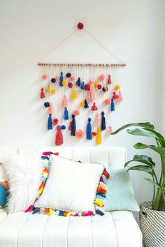 You may not like it, but pom-poms aren't going anywhere anytime soon. Whether sporting bright colors or dipped in modern neutrals, this epitome of texture is agreatadornment optio…