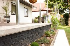 your own vegetable garden - #concrete stamped wall http://www.idealwork.com/Stamped-wall-Features-and-benefits.html