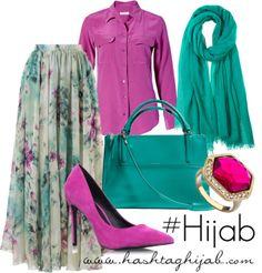 Fashion Arabic Style Illustration Description Hijab Fashion Hashtag Hijab Outfit – Read More – Modest Dresses, Modest Outfits, Classy Outfits, Casual Dresses, Hijab Fashion 2016, Look Fashion, Fashion Outfits, Islamic Fashion, Muslim Fashion