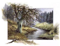 Watercolor by Rleint Withaar