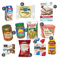 Top 10 dairy and soy free products