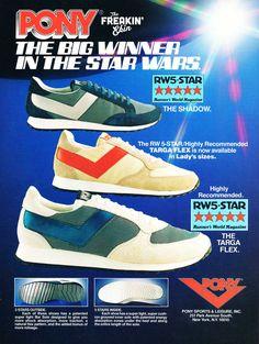 28ff70dc36a022 PONY 1981 vintage sneaker ad   The Freakin  Ekin