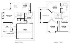 House Plans - Bayside 2 - Linwood Custom Homes