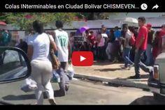 Enorme cola para comprar galletas en Ciudad Bolívar  http://www.facebook.com/pages/p/584631925064466