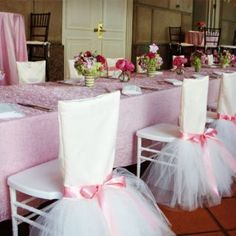 2015 Chair Sash for Weddings Satin Tulle Flower Labera Delicate Wedding Decorations Chair Covers Chair Sashes Maxi Wedding Accessories Wedding Chair Decorations, Wedding Chairs, Birthday Decorations, Flower Decorations, Ballerina Birthday, Princess Birthday, Princess Party, Tutu Party, Chair Covers