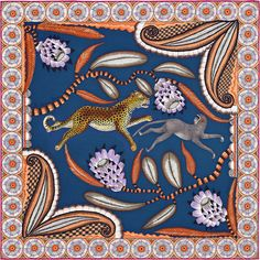 """Carré Hermès  -  """"The Savana Dance"""""""