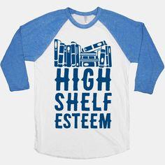 Shelf Esteem tshirt