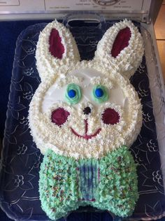 Easter Bunny Cake, 3/31/13 ms