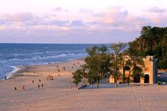 Indiana Dunes State Park Pavilion. The Dunes is a National Lakeshore.  I live 15 minutes south of this.