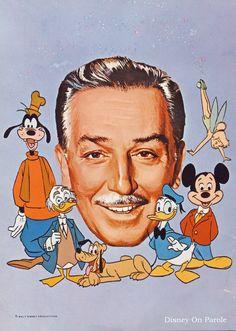 Vintage - Walt Disney and magical friends http://media-cache-ak0.pinimg.com/originals/17/55/75/175575b26a8be56adf11e888bf833c67.jpg