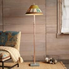 This Sage Mountain Floor Lamp is lovely, whimsical, and unlike any other.