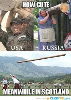Humor Discover How cute USA vs Russia vs Scotland is part of humor - comics to funny ecards memes fails Funny Shit Funny Cute The Funny Funny Jokes Funny Stuff Funny Commercials Car Jokes Funny Things Funny Fails Funny Shit, Stupid Funny Memes, Funny Stuff, Funny Things, 9gag Funny, Funny Pictures With Captions, Picture Captions, Funny Pics, Funny Images