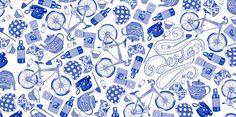Helena Hauss - Biro pen illustrations - Bic pen illustrations   Style Art Design Music