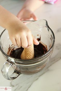 Chocolate Dipped Cone by Heather Christo, via Flickr