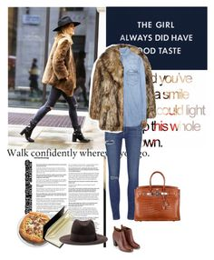 Get The Look: Faux Fur Coat by solespejismo on Polyvore featuring polyvore, fashion, style, Calvin Klein Jeans, Unreal Fur, Paige Denim, Monsoon, Emilio Pucci and Spinning Hat