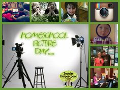 Introducing: HOMESCHOOL PICTURE DAY!  Celebrating the diversity and uniqueness of homeschoolers!  #homeschoolpictureday