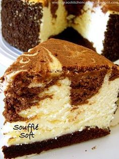 Marble Soft Cheesecake....Yes please!!