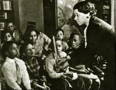 Augusta Braxton Baker was a devoted storyteller who developed a groundbreaking list of stories that portrayed African Americans positively and established a collection of African American children's literature at the New York Public Library. She became the first African American coordinator of Children's Services at the NYPL in 1961, in charge of youth programming at all eighty-three branches.