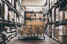 Raw frame warehouse at Venetasedie. Scent of wood and craftmanship in the air!