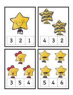 Preschool Printables: Stars