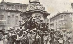 Revolução de 1930, momento em que a Praça do Patriarca foi renomeada para Praça João Pessoa.