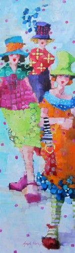 Playing that domino - Morgan, Angela - Artists - Galerie Beauchamp