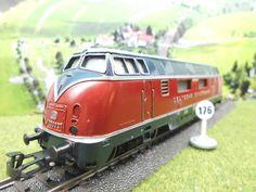 spielejack 176  Märklin H0: Diesellok BR V200 der DB #3021 aus 1961